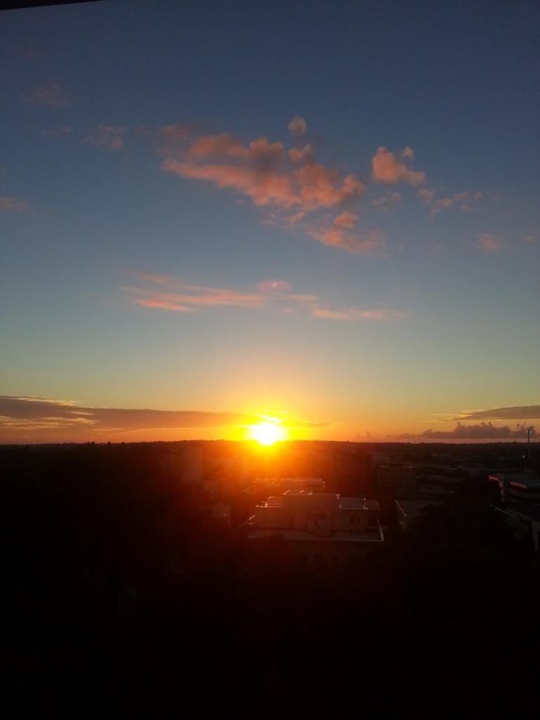 Couleur du ciel sunset Perth Australie Blog un tour a deux