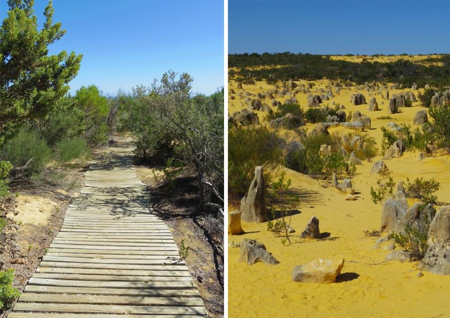 Blog un tour a deux voyage monde australie perth pinacles desert