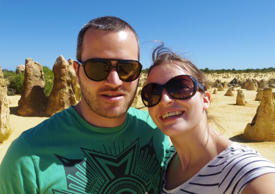 Blog un tour a deux voyage monde australie perth pinnacles desert