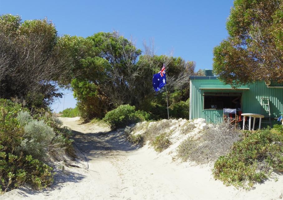 Blog un tour a deux voyage monde australie perth ville deserte drapeau