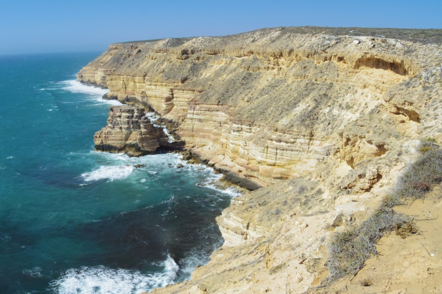 Kalbarri Cliffs by untouradeux