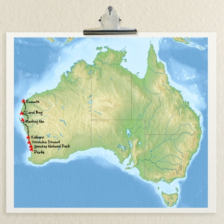 MAP AUSTRALIA by untouradeux