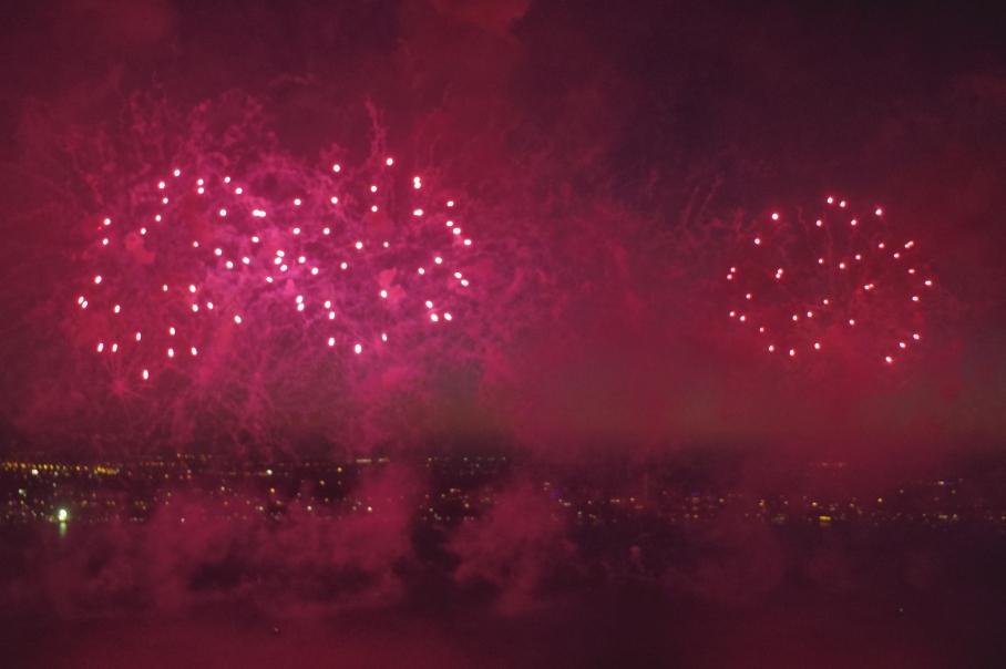 Australian Day Fireworks 2bis by un tour a deux