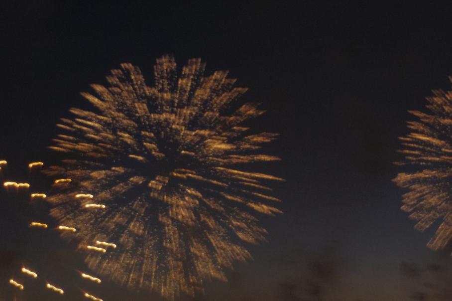 Australian Day Fireworks 5b by un tour a deux