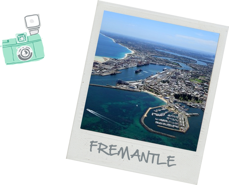 Freo Blog Voyage Australie un tour a deux Perth Map Fremantle