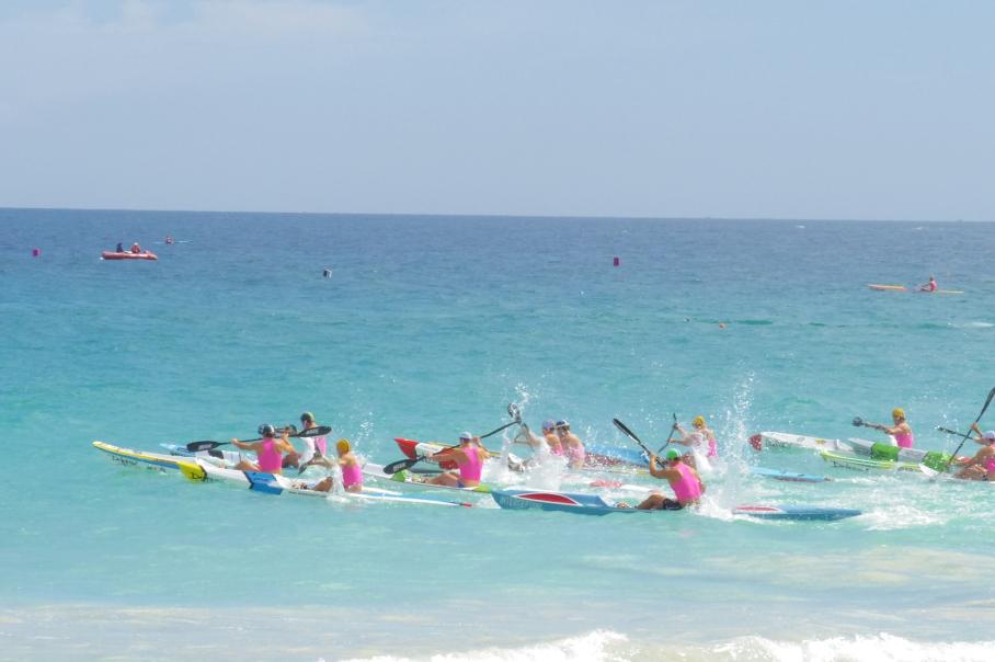 Un tour a deux blog australie perth plage scarborough surf life saving depart competition