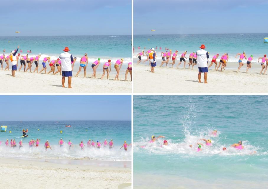 Un tour a deux blog australie perth plage scarborough surf life saving depart course