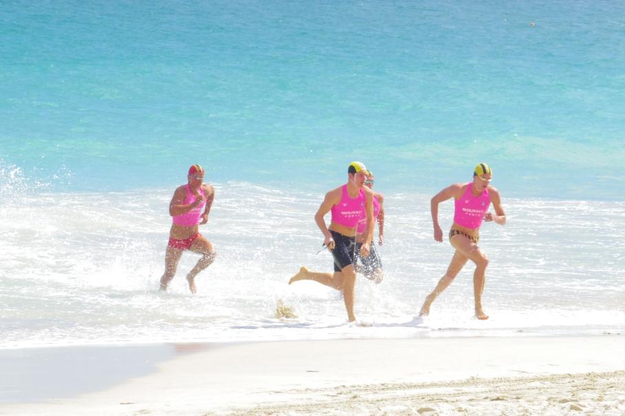 Un tour a deux blog australie perth plage scarborough surf life saving sorie eau