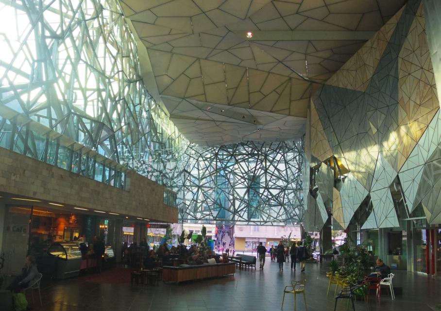Un tour a deux Melbourne Australie Voyage Travel Architecture Museum