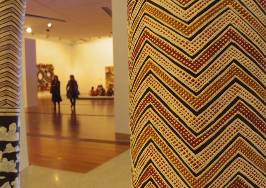 Un tour a deux Melbourne Australie Voyage Travel Art Aborigene Museum