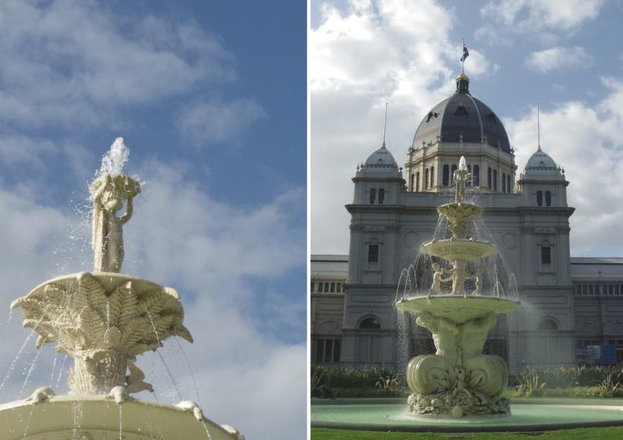 Un tour a deux Melbourne Australie Voyage Travel fontaine