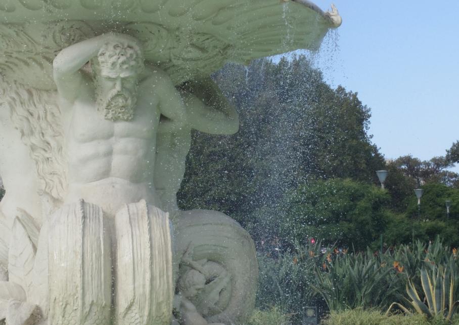 Un tour a deux Melbourne Australie Voyage Travel Jardins fontaine