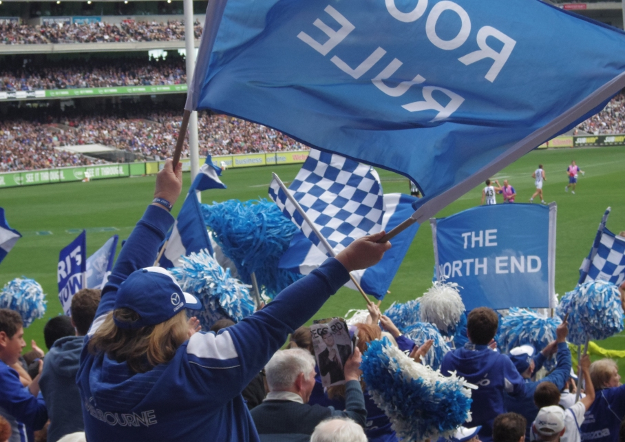 Un tour a deux Melbourne Australie Voyage Travel MGC Stadium Footy Game North Melbourne