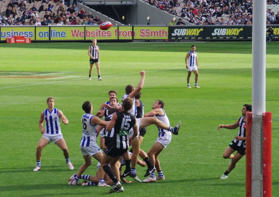 Un tour a deux Melbourne Australie Voyage Travel MGC Stadium Footy Game