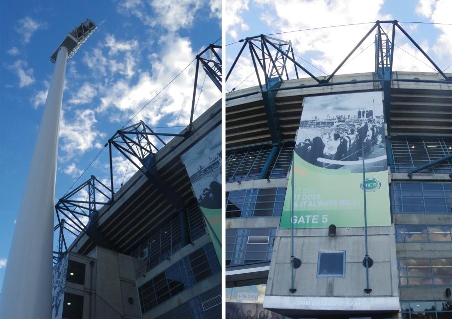 Un tour a deux Melbourne Australie Voyage Travel MGC Stadium Footy