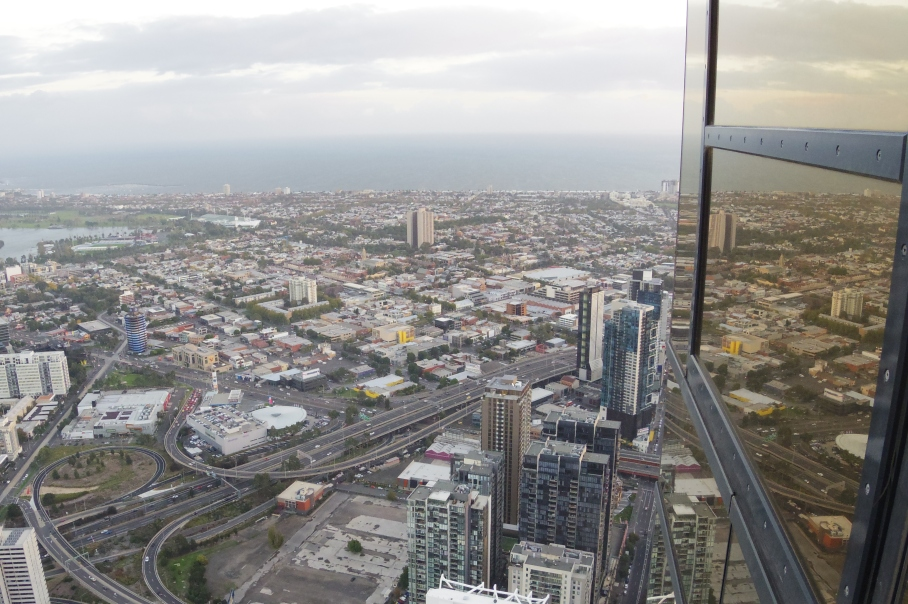 Un tour a deux Melbourne Australie Voyage Travel Sunset Eye Tower View Road Trip