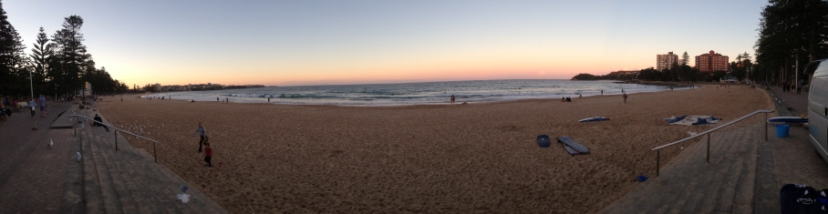 2014 04 - Manly Beach Sunset