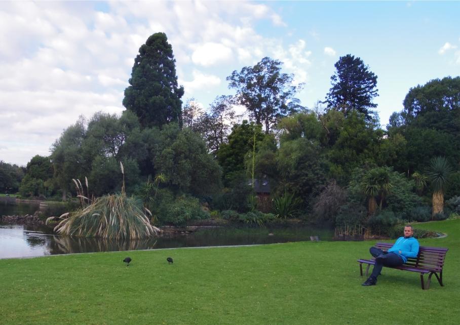 Un tour a deux Melbourne Australie Voyage Travel Botanic Garden View