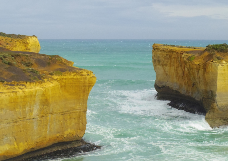 Un tour a deux travel voyage australie Melbourne Great Ocean Road Day View Rain Pluie Clift