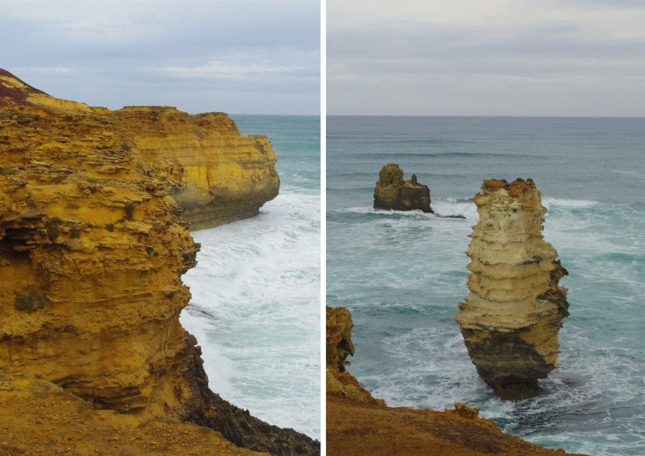 Un tour a deux travel voyage australie Melbourne Great Ocean Road Falaises Beach View