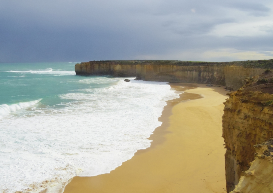 Un tour a deux travel voyage australie Melbourne Great Ocean Road Falaises Calcaires View