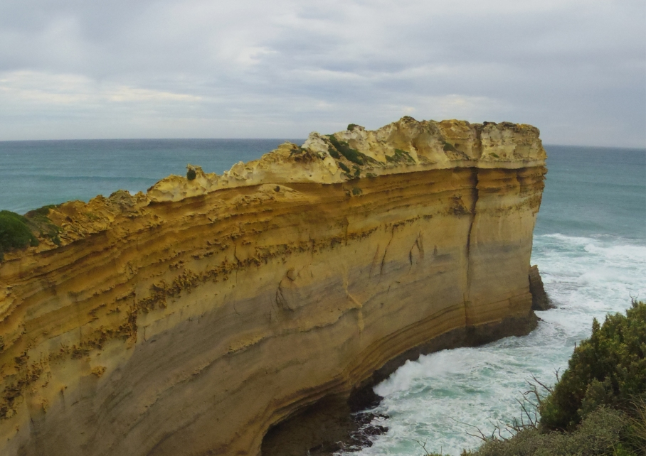 Un tour a deux travel voyage australie Melbourne Great Ocean Road Falaises Plage Clifft Beach View