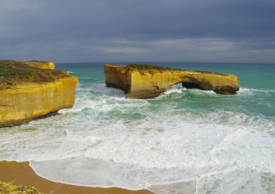 Un tour a deux travel voyage australie Melbourne Great Ocean Road Falaises View