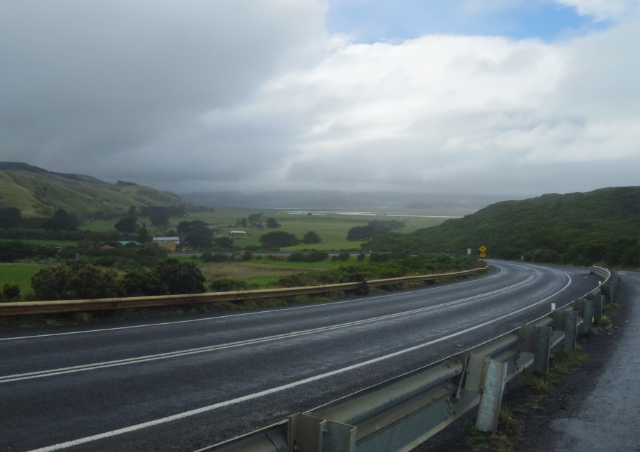 Un tour a deux travel voyage australie Melbourne Great Ocean Road Rain