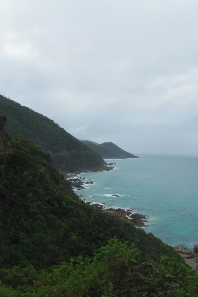 Un tour a deux travel voyage australie Melbourne Great Ocean Road Rainy Day View