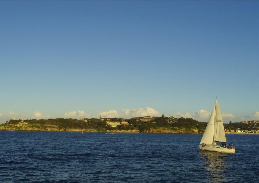 Un tour a deux travel voyage australie Sydney Boat Bay