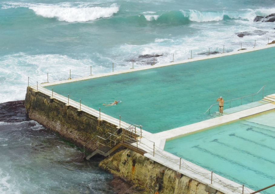 Un tour a deux travel voyage australie Sydney Bondi Beach Iceberg Club Swimming Pool