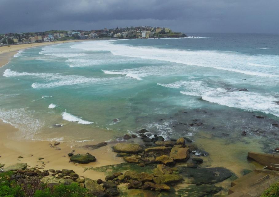 Un tour a deux travel voyage australie Sydney Bondi Beach Iceberg Club