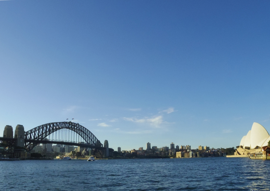 Un tour a deux travel voyage australie Sydney Harbour Bridge Bay Sydney
