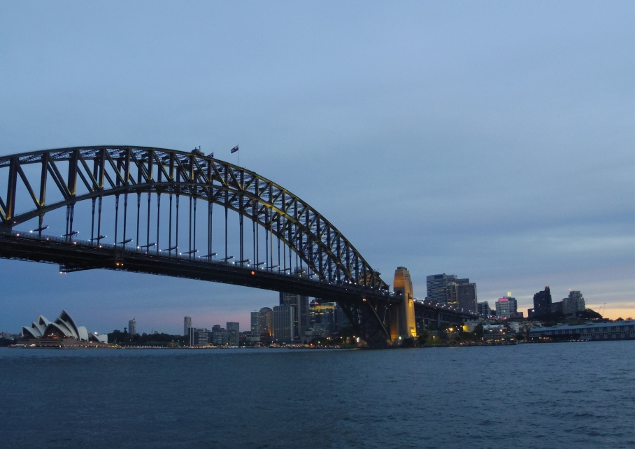 Un tour a deux travel voyage australie Sydney Harbour Bridge View