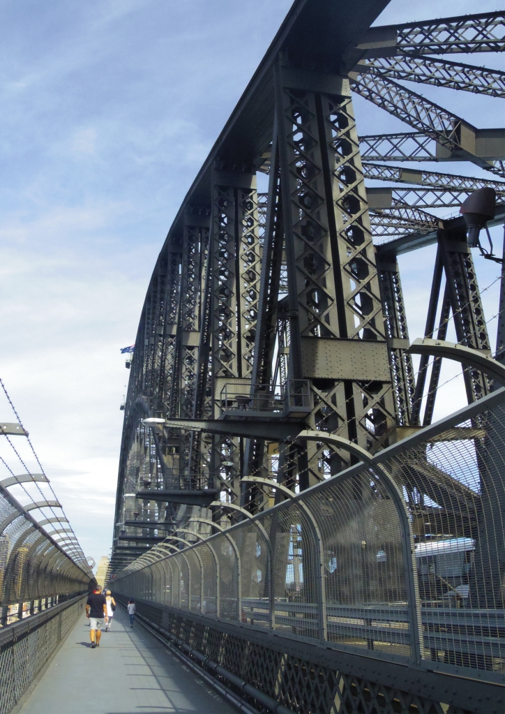 Un tour a deux travel voyage australie Sydney Harbour Bridge