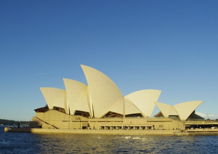 Un tour a deux travel voyage australie Sydney House Opera