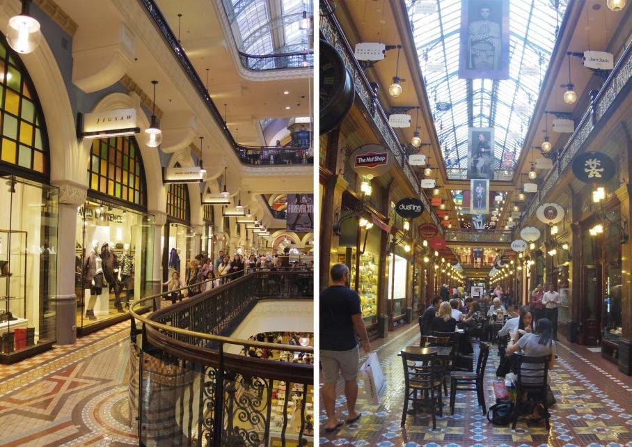 Un tour a deux travel voyage australie Sydney Queen Victoria Building