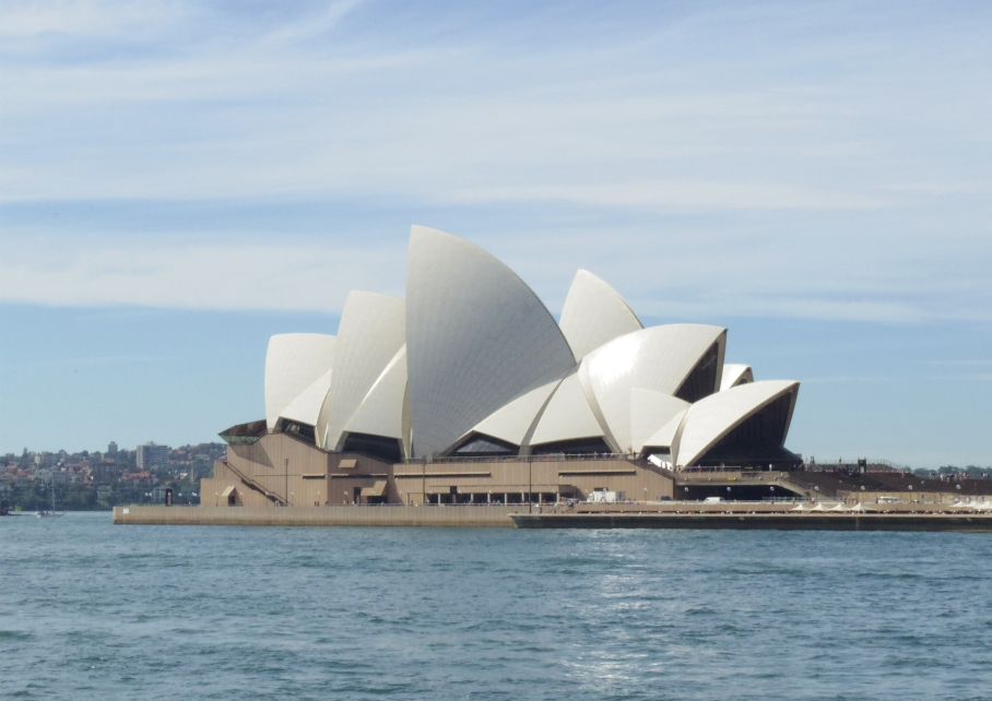 Un tour a deux travel voyage australie Sydney Swimming pool Opera House