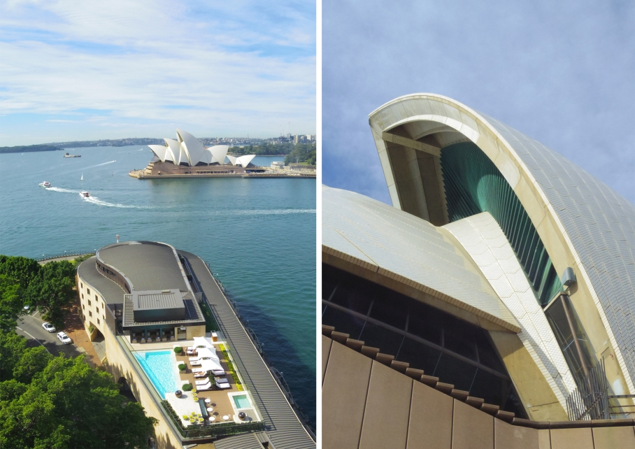 Un tour a deux travel voyage australie Sydney Swimming pool Opera