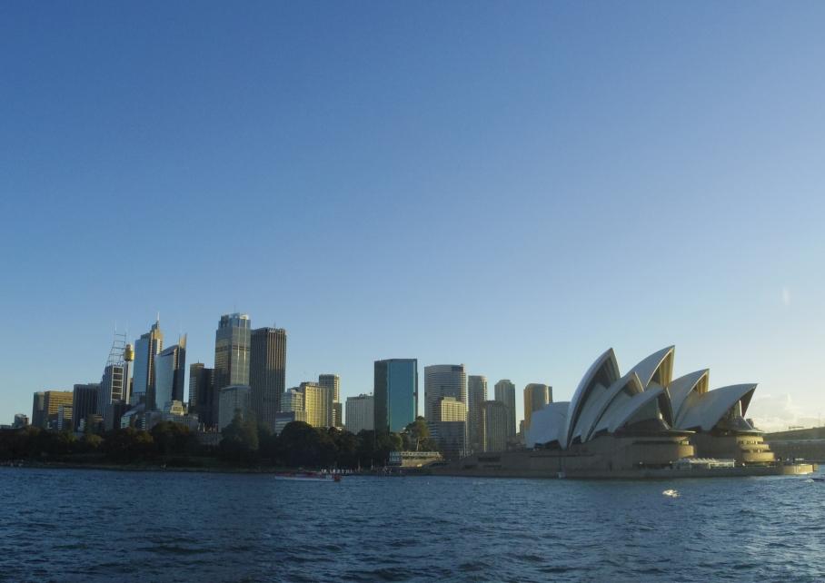 Un tour a deux travel voyage australie Sydney View