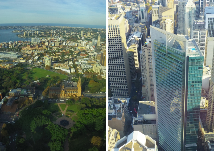 Un tour a deux travel voyage australie SydneyCentral Tower Eye Sydney