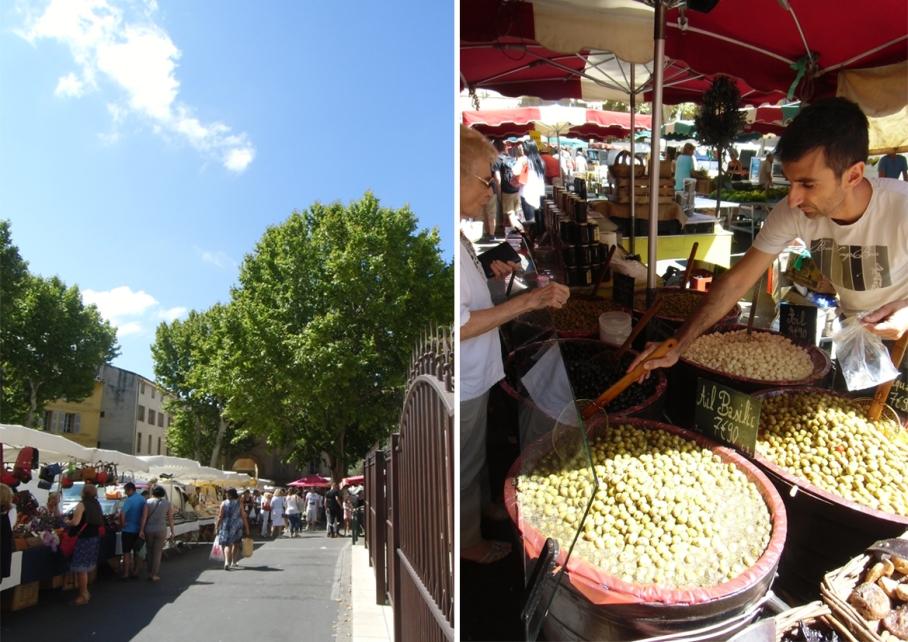 Blog untouradeux voyage travel paris perth aix en provence marche olives aix france