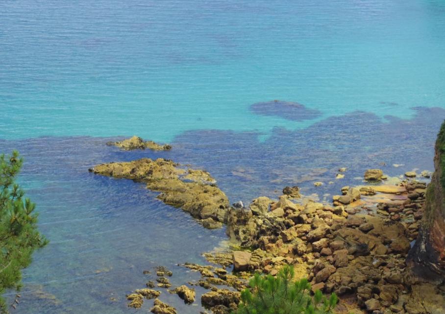 Bretagne Crozon Australie Voyage Decouverte Morgat Blog Travel un tour a deux Ile vierge Eau Bleu