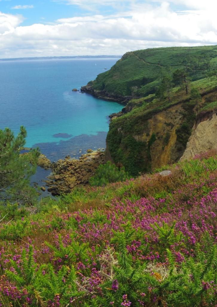 Bretagne Crozon Australie Voyage Decouverte Morgat Blog Travel un tour a deux Ile vierge Vue