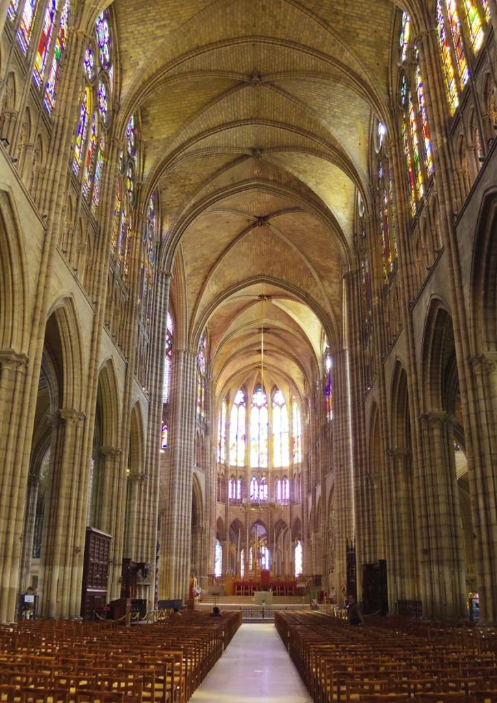 Paris Basilique St Denis Vitraux Australie Voyage Decouverte Blog Travel un tour a deux Vacances