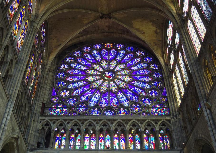 Paris Basilique St Denis Vitraux Australie Voyage Decouverte Blog Travel un tour a deux