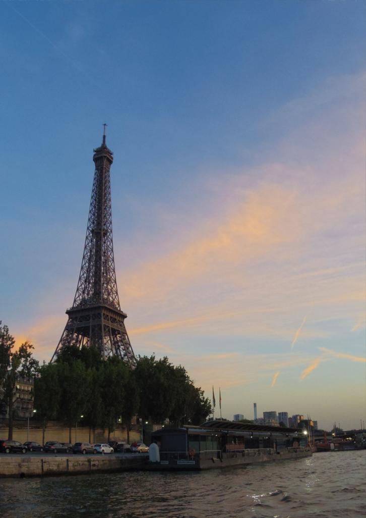 Paris Tour Eiffel La Seine Australie Voyage Decouverte Bateau Mouches Blog Travel un tour a deux
