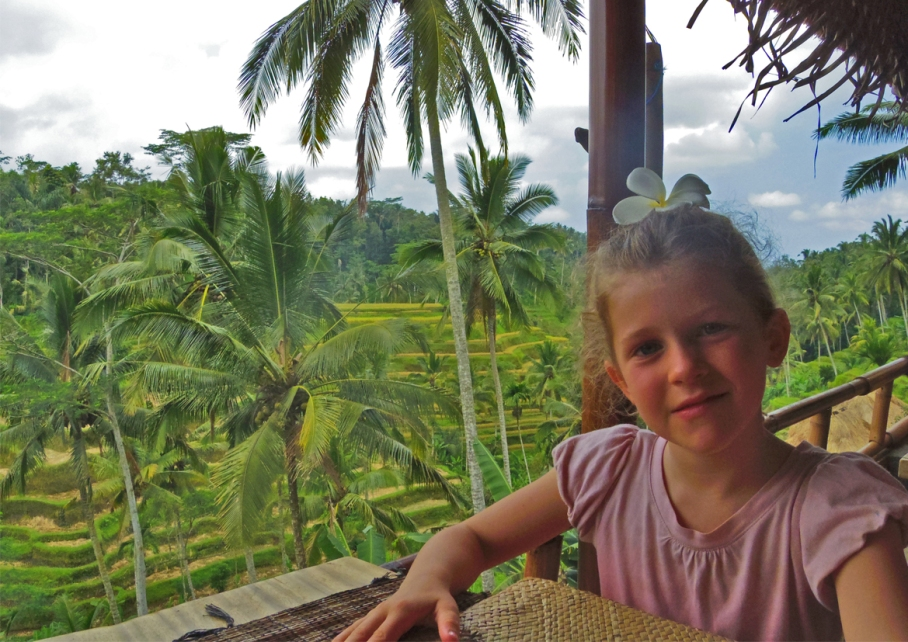 Un tour a deux voyage holidays travel Bali vacances holiday bali view riziere