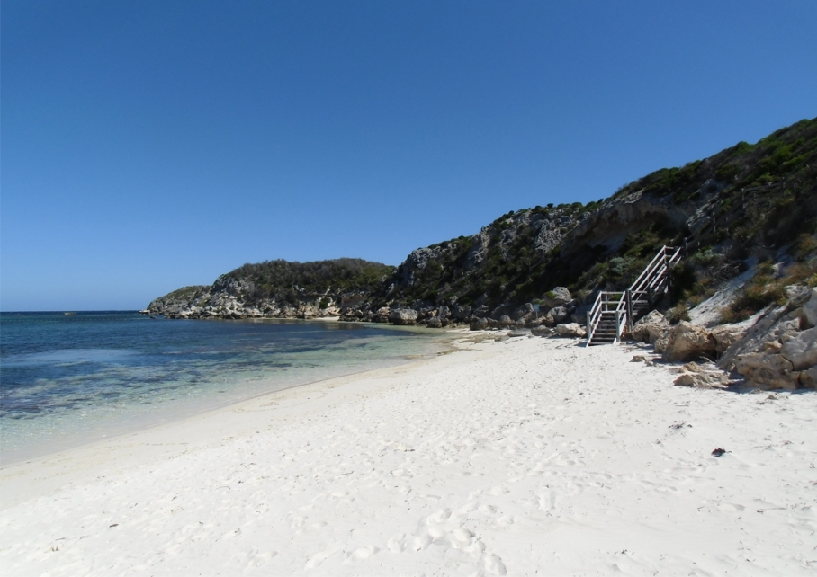 Un tour a deux blog voyage travel perth australia rottnest island rocher plage beach little bay plage mer ocean