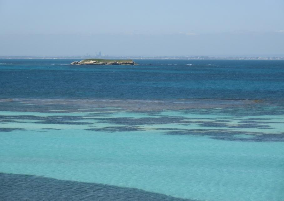 Un tour a deux blog voyage travel perth australia rottnest island rocher plage beach little bay sea view